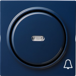 Wippe Kontroll Symbol Klingel für S-Color blau