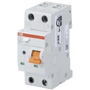 Brandschutzschalter mit Sicherungsautomat 1P+N 6kA 2TE - 6A / C-Charakteristik