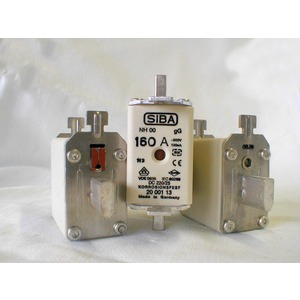 Siba NH-Sicherung gG Gr.00 Typ NH00 160A Kombimelder