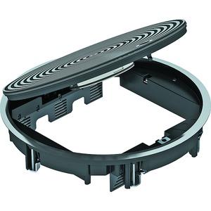 Geräteeinsatz f.Nasspflege mit Strukturdeckel AlG eisengrau RAL 7011