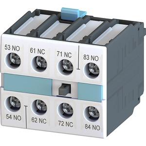 Hilfsschalterblock 2NO+2NC Ordnungsziffern 5-8 DIN EN50012 4pol.