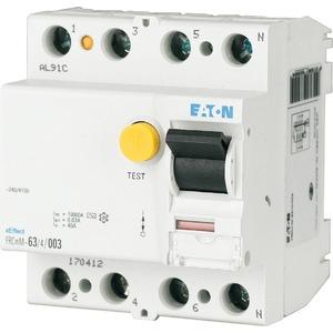 Fehlerstromschutzschalter 40A 4-polig 100mA Typ-A