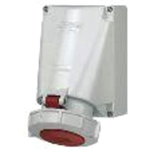 CEE Wandsteckdose 125A 4-polig 500V / 7h IP67