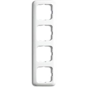 Abdeckrahmen Reflex 4-fach weiß glänzend