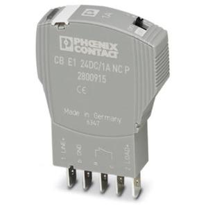 Geräteschutzschalter elektronisch 1-polig steckbar V0 grau