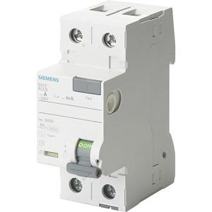 Fehlerstromsschutzschalter / FI 2p Typ A 80 A 300 mA 230 V N-links