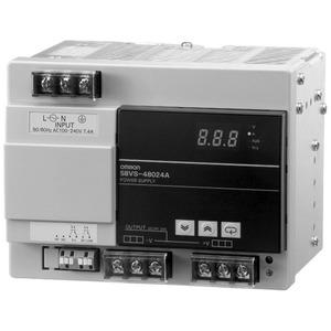 Schaltnetzteil 480 W 100 - 240 VAC / 24 VDC / 20 A Dig.Anzeige NPN