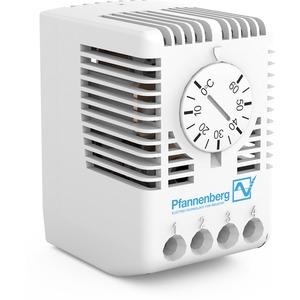 Thermostat mit Wechselkontakt für Schaltschrankheizungen