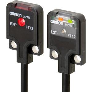 Optischer Sensor Einweglichtschranke flach 0,5m DC NPN dunkelschaltend