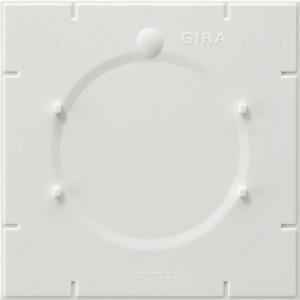 1-fach Bodenplatte Standard 55 für E2 und für E22 weiß