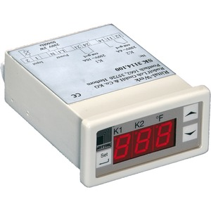 Digitale Temperaturanzeige und Regler für Schaltschränke