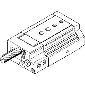 Mini-Schlitten Kugel-Käfig-Führung Baugr. 20 mm / Hub 20 mm P-Dämpf.