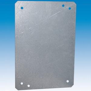 Montageplatte Stahl feuerverzinkt 280 x 380 x 2 mm