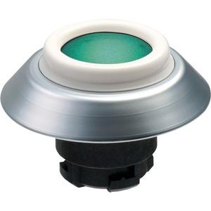 Leuchttaster GRUEN für Fronteinbau