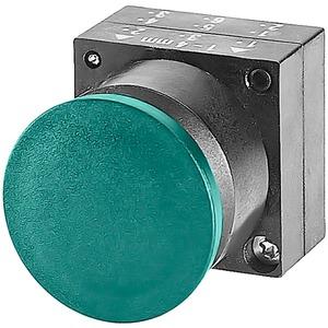 Pilzdrucktaster 22mm rund Kunststoff rot 30mm Tastend mit Halter
