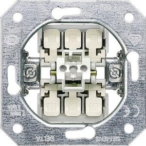 DELTA Schalter-Geräteeinsatz UP Ausschalter 3pol. 16A 250V