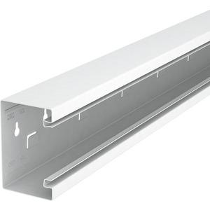 Geräteeinbaukanal symmetrisch 70x110x2000 St reinweiß RAL 9010
