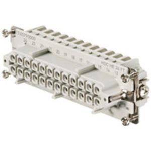 Einsatz HDC Buchse 500 V 16 A HE 24 FT