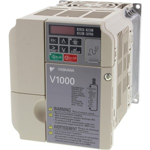 Frequenzumrichter V1000 1,5kW 4,8A 400V AC 3-phasig sensorl. vektorg.
