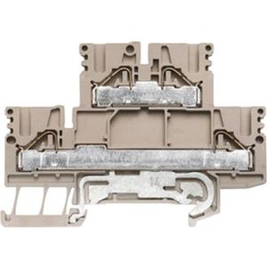 Doppelstock-Reihenklemme PDK 2.5/4L-PE