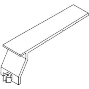 Verdrahtungskanal BE-DIN Universalkabelhalteklammer halogenfrei