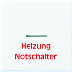 """Wippe Linse Lichtleiter """"Heizung Notschalter"""" f. Wipp-Kontrollschalter"""