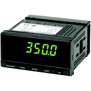 Temperaturanzeige 96x48mm 1 Ausgang Thermoelement/PT100, 100-240V AC