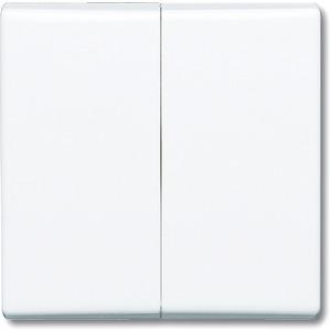 Wippe für Serien Wechsel/Wechsel Doppeltaster alpinweiß glänzend
