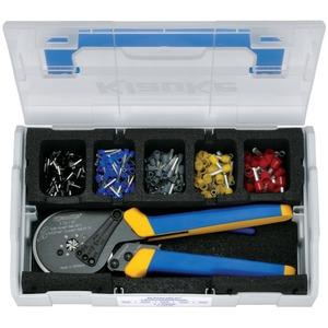 L-BOXX Kunststoff für isolierte Aderendhülsen 1,5 - 10 mm² + Presswerkzeug