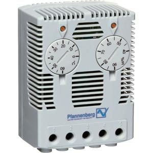 Elektr. Hygrostat / Thermostat Kombi Wechselkontakt für Schaltschränke