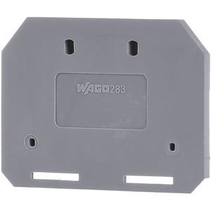 Abschluss- und Zwischenplatte 4 mm dick grau