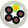 Energieleitung 5-adrig LITZE 5x 1,5 mm2 schleppfähig