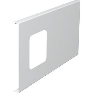 Oberteil für Geräteeinbau 1fach 150x300mm PVC reinweiß RAL 9010
