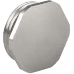 Verschlussschraube für Kabelverschraubung M50 x 1,5 Messing vernickelt