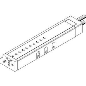 Mini-Schlitten Kugel-Käfig-Führung Baugr. 25 mm / Hub 200 mm P-Dämpf.