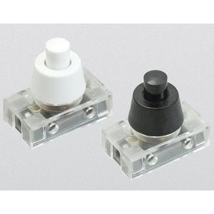 Druckknopfschalter Serie 8001 250 V T 100°C 1-polig Zentralbefestigung M10x1mm ws