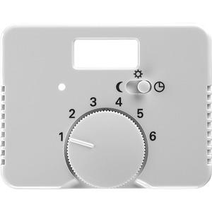 Zentralscheibe alpha für Temperaturregler 1095 / 1096 UTA studioweiß
