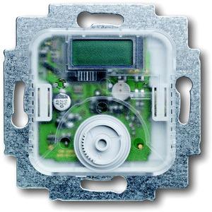 Unterputz Temperaturregler Wechselkontakt mit Temperaturanzeige