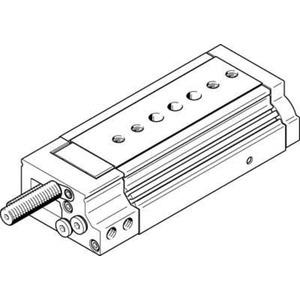 Mini-Schlitten Kugel-Käfig-Führung Baugr. 25 mm / Hub 50 mm P1-Dämpf.