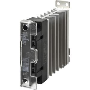 Halbleiterrelais 1-phasig 27A 24-240V AC mit Kühlkörper DIN-Hutschiene