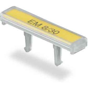 Klemmenmarkierer / Verbindermarkierer 30 x 8 mm Polypropylen