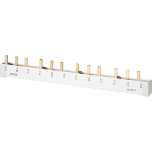 Stiftsammelschiene 16 mm² 4-phasig 214mm lang vollisoliert