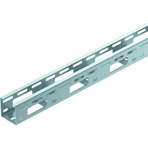 AZ-Kleinkanal gelocht Stahl tauchfeuerverzinkt 50x50x3000 mm