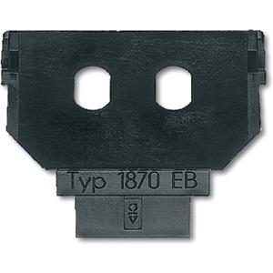 DKS-System Sockel Durchführungsbuchsen-Lichtwellenleiter2x Simplex ST