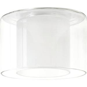 Living DecoSystems Schirm Twice max.50W GU5,3 Glas Klar/Opak