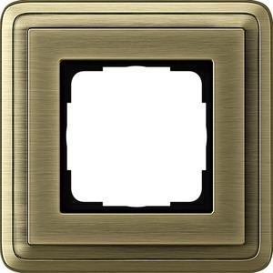 1-fach Abdeckrahmen für ClassiX Bronze