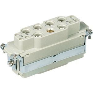 Buchseneinsatz HAN K 6/6-F 100 AMP/16-35 mm² rechtecking