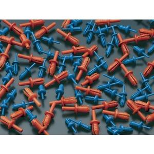 Spreitzniete orange für Verdrahtungskanal