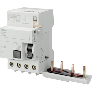 Fehlerstromsschutzschalter / FI - Block 4p Typ A selektiv 40A 300 mA für 5SY