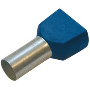 Twin-Aderendhülse 16 mm² / L 16 mm blau